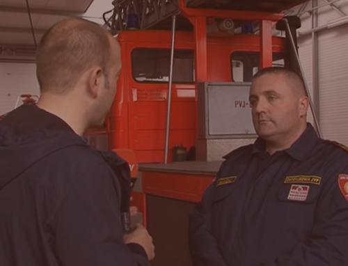 Vatrogasci JVP Čakovca na VTV televiziji