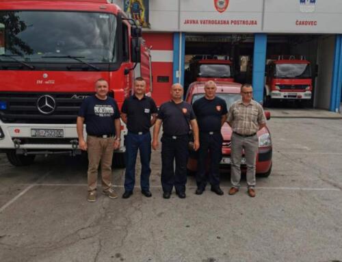Naši vatrogasci na otoku Ugljanu