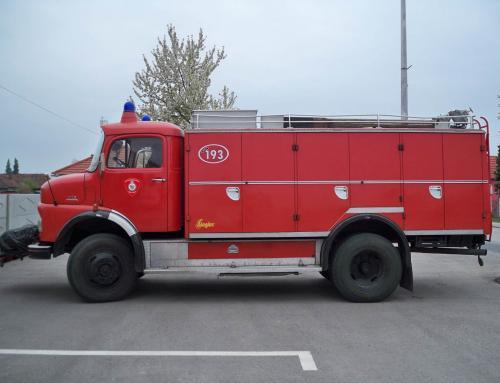 Obavijest o prodaji vatrogasnog vozila